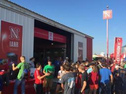 Attendees at Husker Harvest Days, Sept. 13-15 near Grand Island, can find the University of Nebraska-Lincoln's Husker Red steel building at Lot 321 on the south side of the exhibit grounds. | Courtesy of IANR