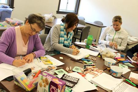 Teachers participate in professional development through the UNL CSMCE.
