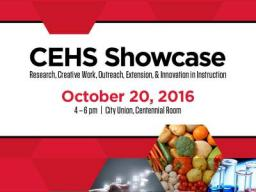 CEHS Showcase Invitation