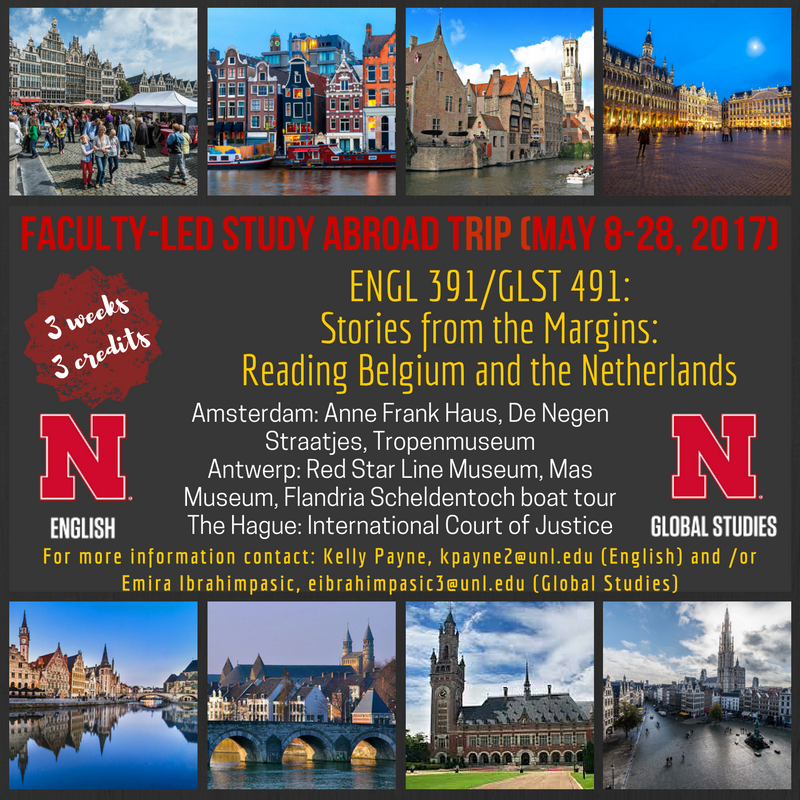 Faculty Led Trip to Netherlands and Belgium (May 2017)
