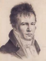 Alexander von Humboldt completed this self-portrait in 1814 in Paris. | Wikimedia Commons