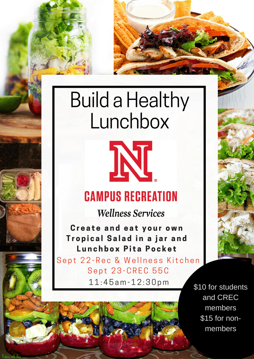 Build a Healthy Lunchbox with Campus Recreation
