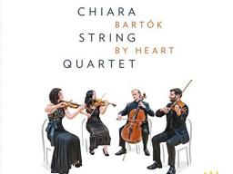 """The Chiara String Quartet have released a two-CD set titled """"Bartók by Heart"""" on Azica Records."""