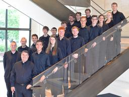 The University of Nebraska–Lincoln's Percussion Ensemble won the International Percussion Ensemble Competition and will perform at PASIC in November. Photo by Michael Reinmiller.