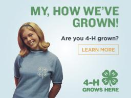 Share your #4HGrown story.
