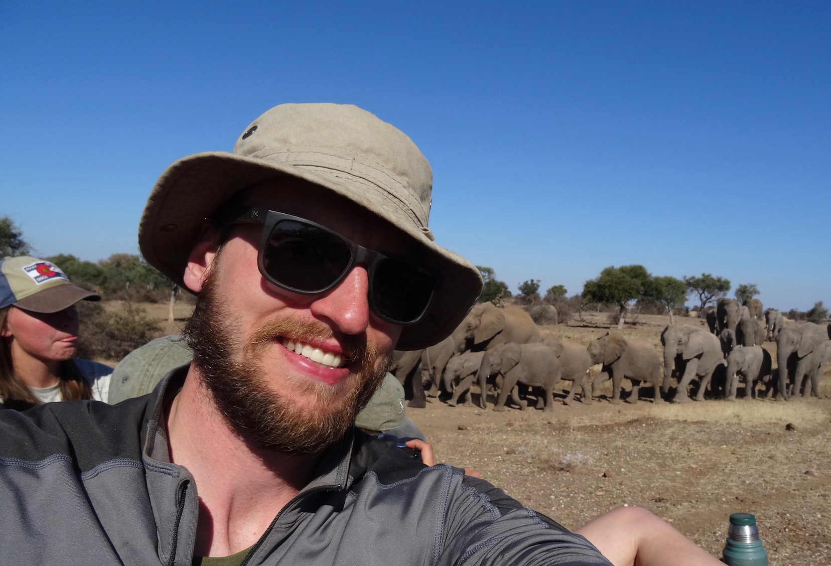 Curt Vandenberg, SNR fisheries and wildlife major, used scholarships to fund his study abroad trip. | Courtesy photo