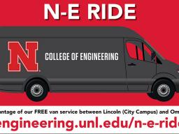 Free shuttle service between Lincoln and Omaha
