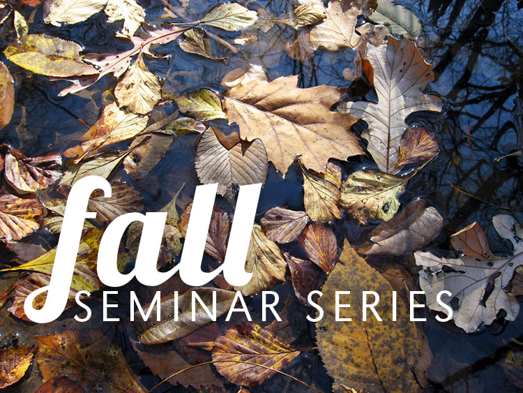 The SNR Fall Seminar Series begins with a lecture set for Wednesday in 107 Hardin Hall.