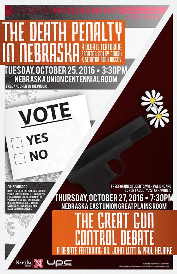 Gun Debate Poster