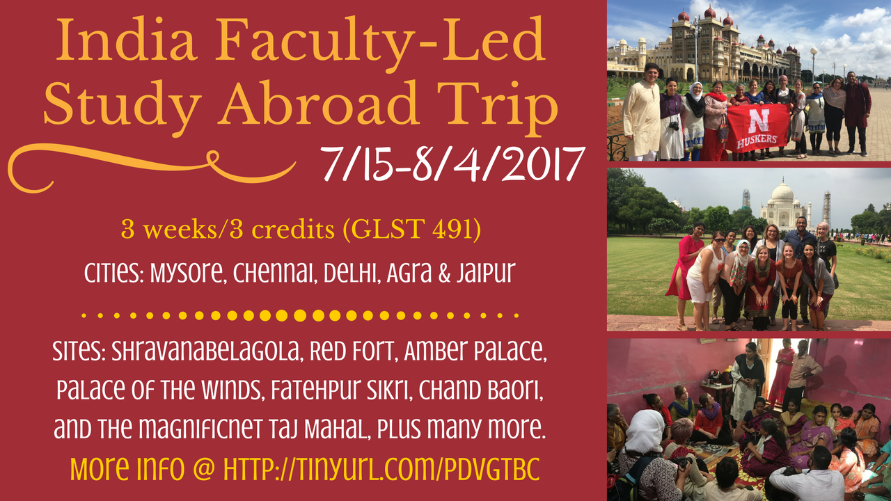 Faculty-Led Trip to India (July 2017)