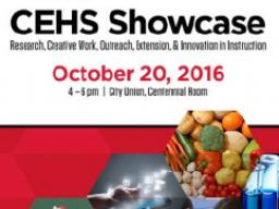 CEHS Showcase will be held 4-6 p.m., Oct. 20 at the Nebraska Union on City Campus.