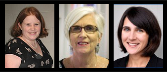 Julie Booth, Cathy Carroll and Jodi Davenport