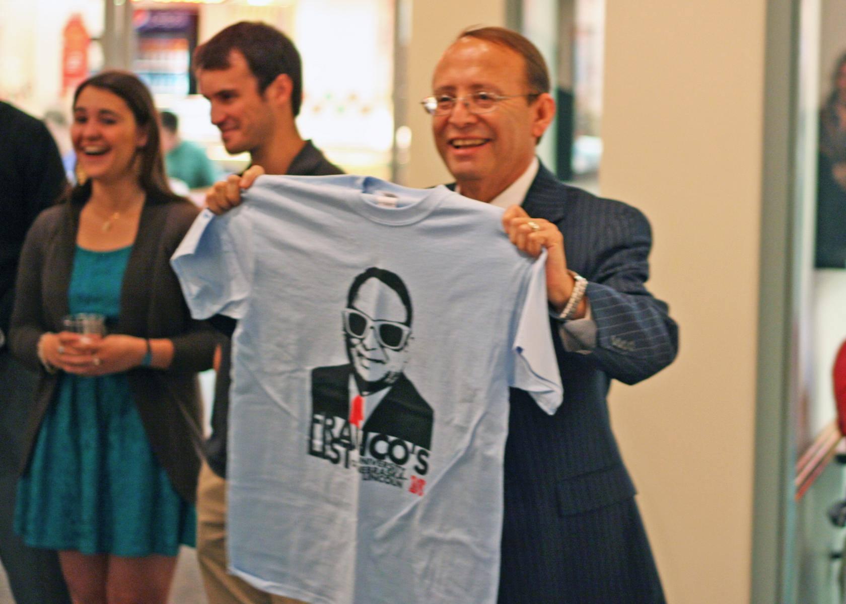 Dr. Franco awards Franco's List winners