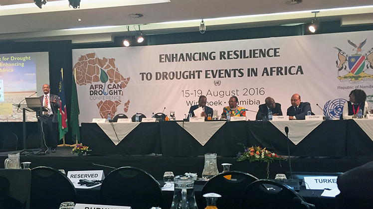 Drought management framework for Africa approved