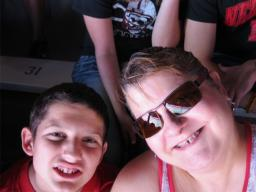 Tricia and her son Tanner