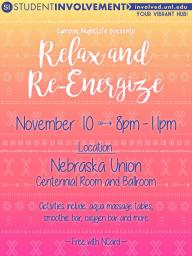 CNL Relax and re energize