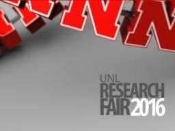 The 2016 Research Fair begins today.