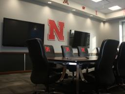 The new Big Ten meeting room in the Nebraska Union now is available for room reservations.