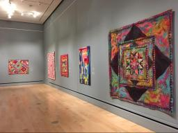 """Contemporary Quilt Art from the International Quilt Festival Collection"" opens Nov. 4, at the International Quilt Study Center & Museum, featuring a lecture from guest curator Sandra Sider at 5:30 p.m."