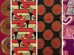 African wax prints.