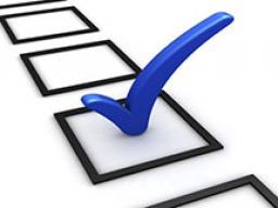 Checkmark vote