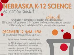 Nebraska K-12 Science Education Summit