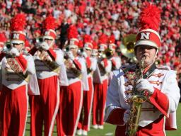 The Cornhusker Marching Band presents their annual Highlights Concert on Sunday, Dec. 11 at the Lied Center for Performing Arts. Photo by Rose Johnson.