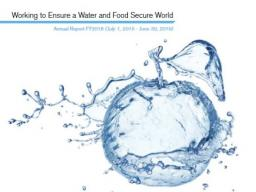 Water for Food Global Institute, 2016 Annual Report