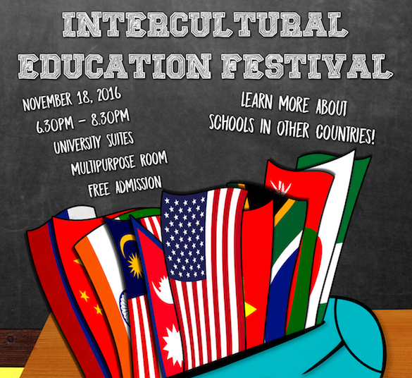 Intercultural Education Festival flier