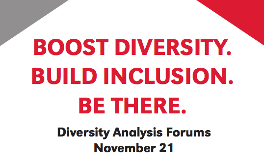 Halualani & Associates will present the diversity benchmarking results and describe the upcoming diversity-mapping phase.