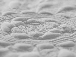 Detail, whole cloth quilt, c. 1830. Collection of IQSCM, 2008.029.0001-1000pixels-2