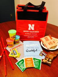 Stress-Free Zone goodie bag