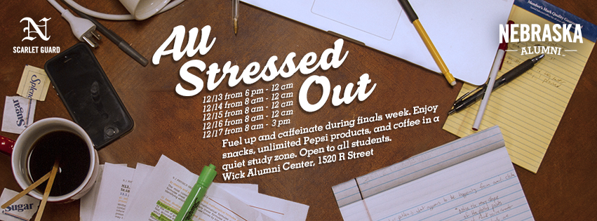 Join us for All Stressed Out!