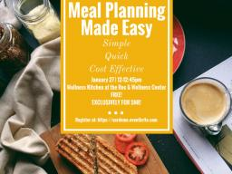 SNR earned a free cooking demonstration planned for Jan. 27 at the Wellness Kitchen at the Rec and Wellness Center on East Campus.