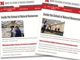 Inside SNR will resume publishing on Jan. 9, the start to the spring semester.