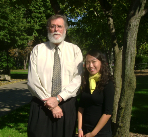 A UCARE project has paired Wayne Drummond, dean of architecture, with student Gabee Cho. Watch a video about their project at http://go.unl.edu/5fo.