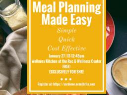 SNR earned a free cooking demonstration set for Jan. 27.
