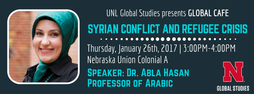Global Cafe: Syrian Conflict and the Refugee Crisis