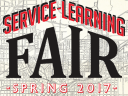 Service-Learning Fair