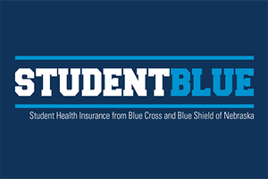 StudentBlue is UNL's student health insurance from Blue Cross and Blue Shield of Nebraska