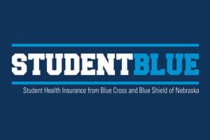 StudentBlue is UNL's student health insurance from Blue Cross and Blue Shield of Nebraska