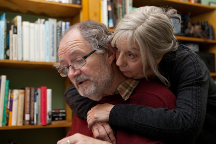 """A scene from Mike Leigh's """"Another Year,"""" playing Feb. 4-17 at the Mary Riepma Ross Media Arts Center."""