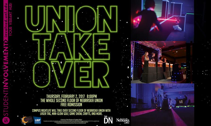 Campus NightLife Union Take Over
