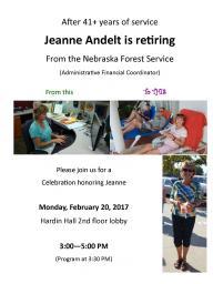 Andelt's retirement