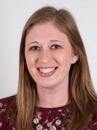 Stephanie Curran, December Graduate and Assistant Professional at The Kansas City Country Club.