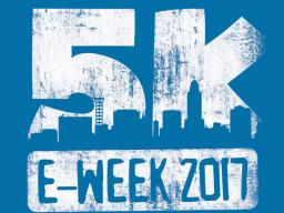 Register for the E-Week 5K by Friday to guarantee receiving a t-shirt