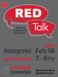 RED Talk Flyer