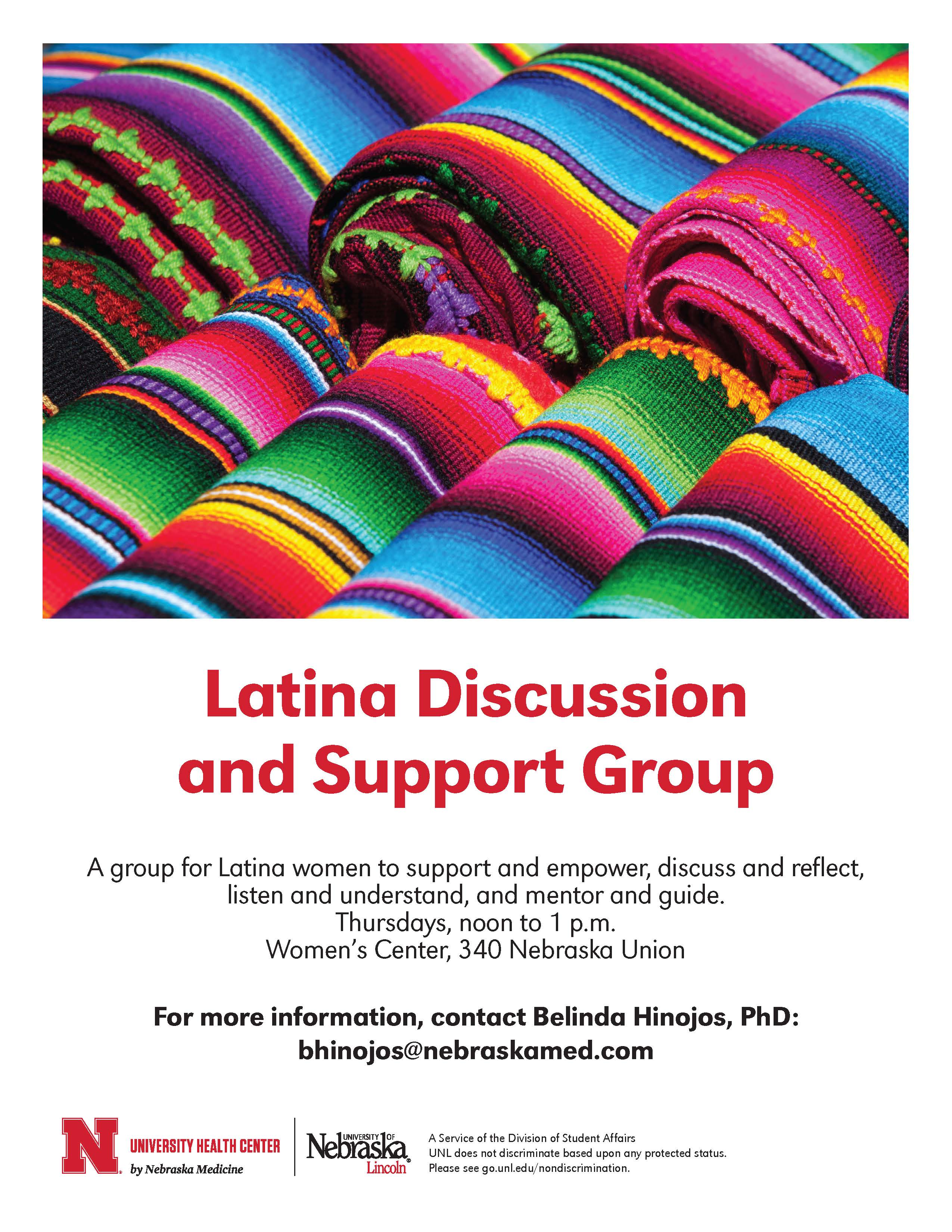 Latina Discussion and Support Group