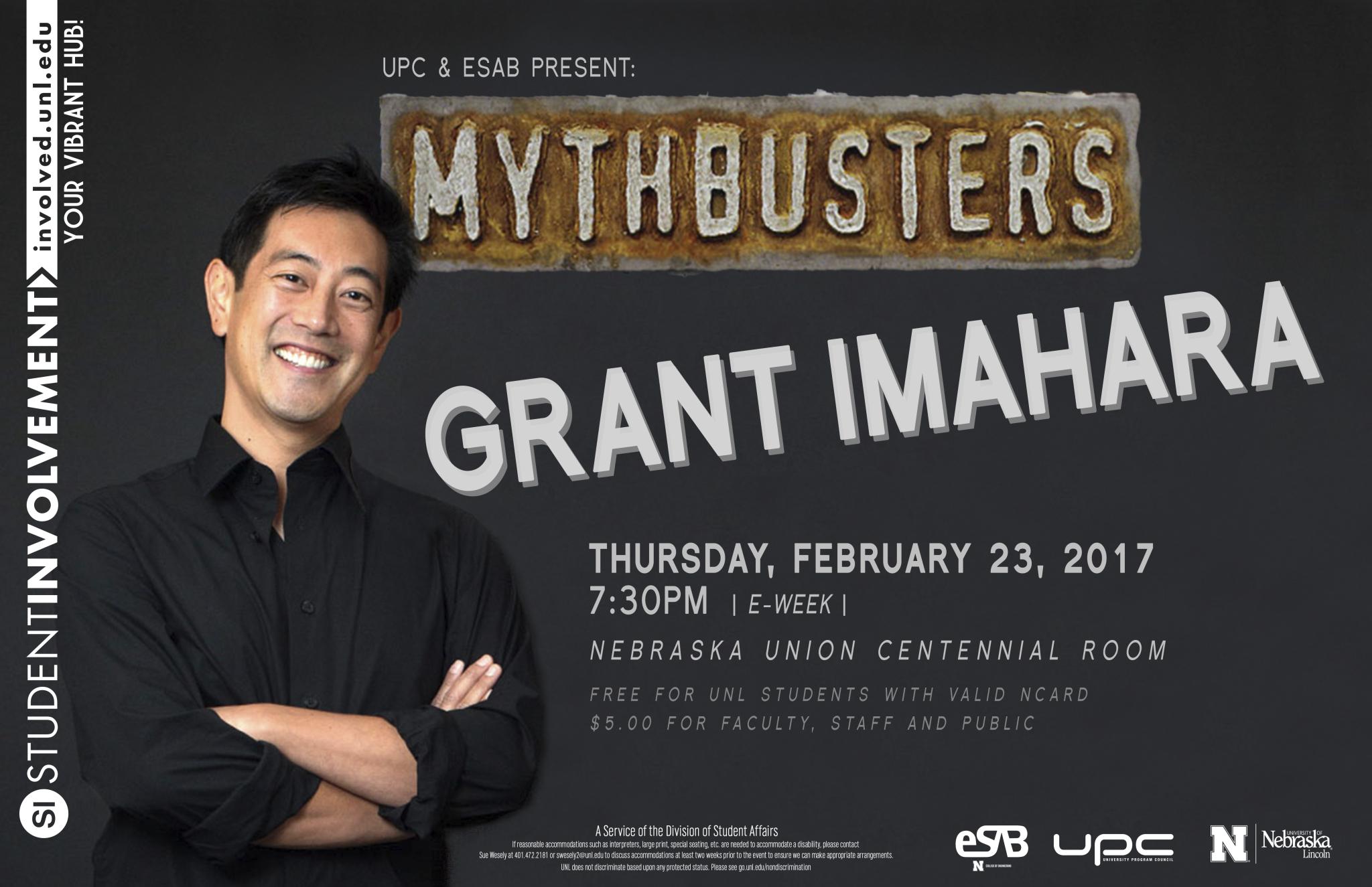 UPC and eSAB Present Grant Imahara