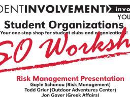 RSO Workshops
